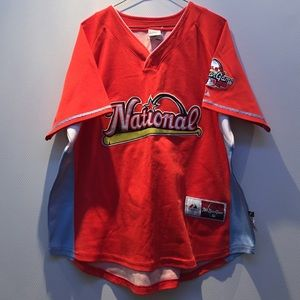 Men's MLB Authentic Majestic National Jersey